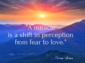 A miracle - course in miracles